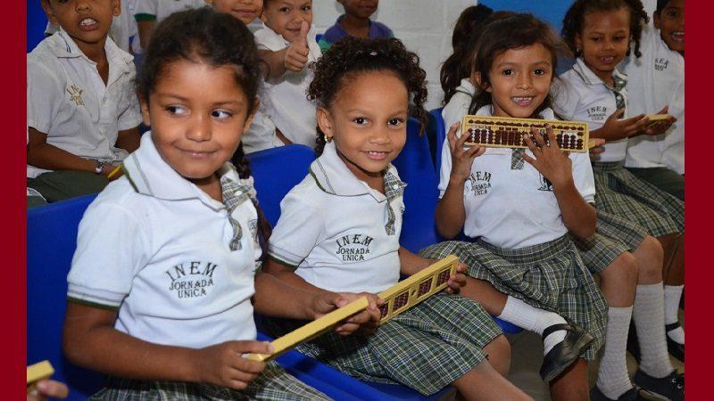 Alcaldía de Soledad le apuesta a la educación con ábacos