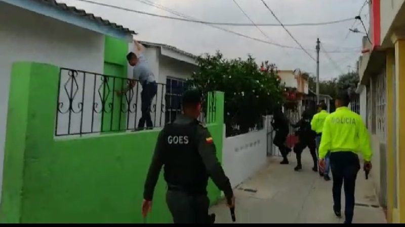 Así capturaron a alias 'Julito', uno de los más buscados por homicidio en Barranquilla