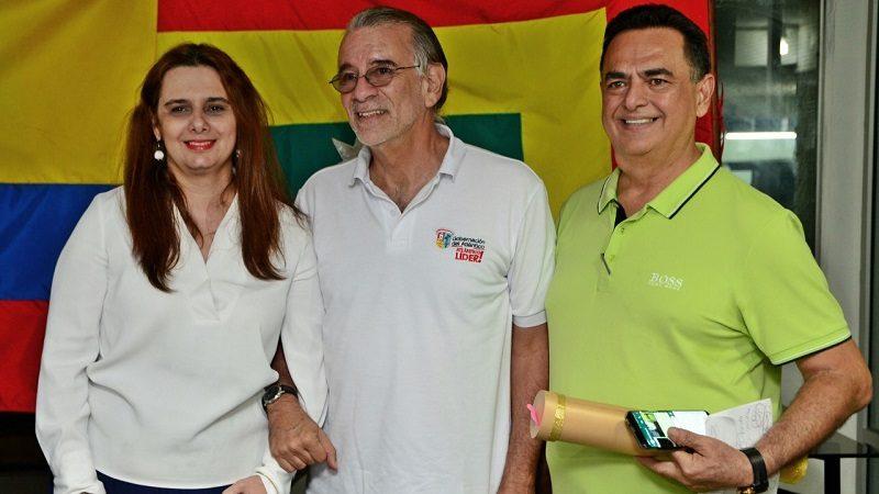 Asamblea del Atlántico rindió tributo a Don Roberto Esper Rebaje