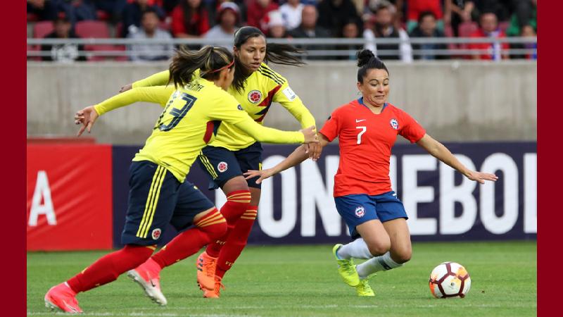 Colombia empató 1-1 con Chile en su segunda salida en la Copa América femenina