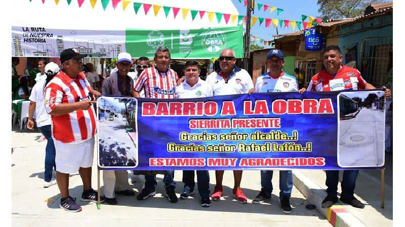 Con 'Barrios a la Obra' se han pavimentado 1.700 vías en Barranquilla