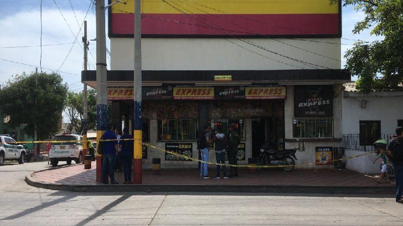 Con una falsa bomba atracan compra-venta en el barrio Rebolo