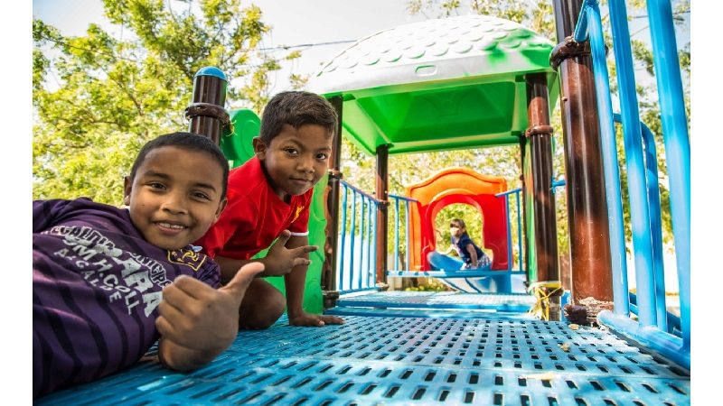 Corregimiento de Cuatro Bocas, en Tubará, estrena moderno parque