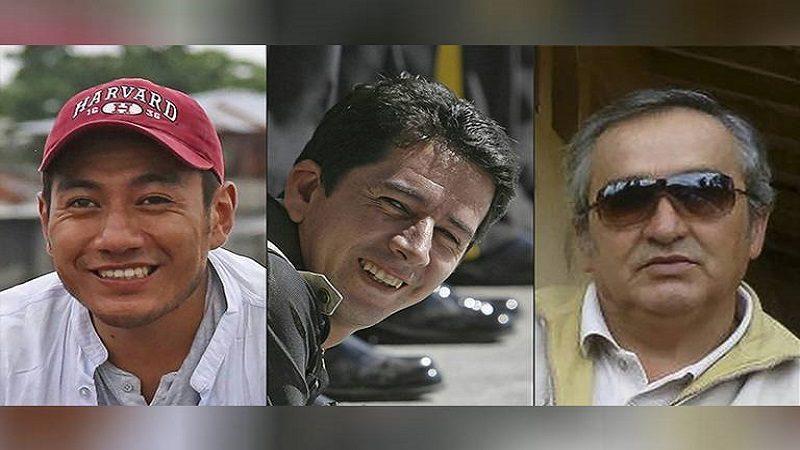 Cuerpos de periodistas ecuatorianos están en Colombia, dice Santos