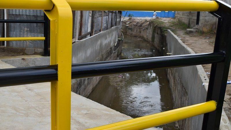 Culminó canalización del arroyo 'el Sapo', sector el Manguito de Malambo