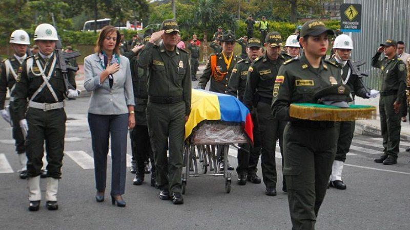Desgarradora despedida a policías asesinados en Urabá