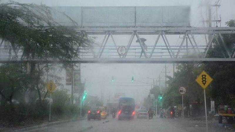 Distrito llama a adoptar medidas de prevención por primera temporada de lluvias