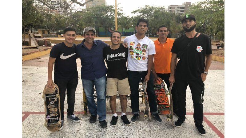 El Parque Venezuela tendrá áreas de básquetbol, vóleibol y pista de 'skate'