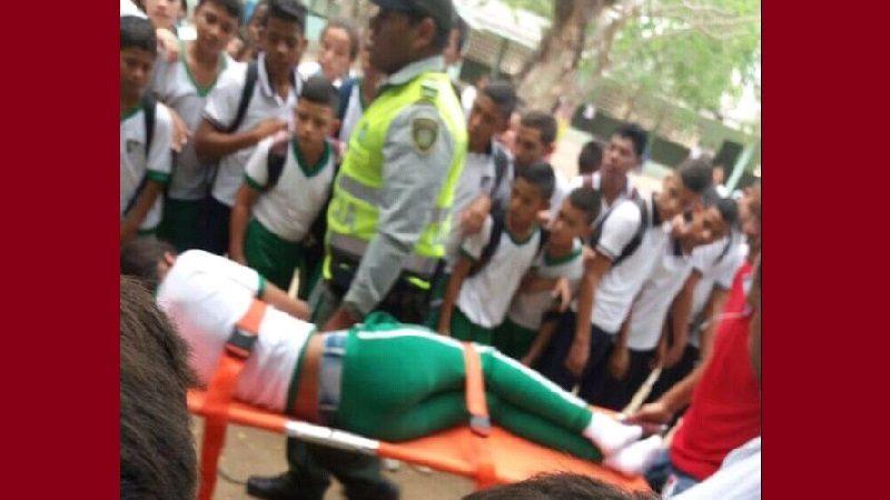 Estudiante de 14 años se lanzó desde el segundo piso de un colegio en Juan de Acosta