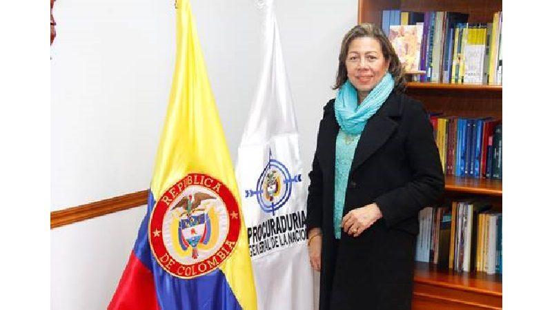 Lesvia María Montalvo Díaz, nueva Procuradora Regional de Sucre