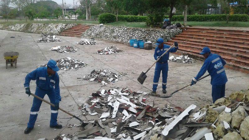 Más de 16 toneladas de residuos ha retirado Triple A de Sabanalarga, tras el vendaval