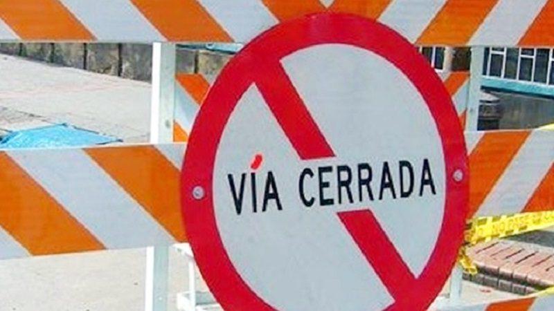 Por obras del arroyo 'Felicidad', cierre de vías a partir de este lunes 30 de abril
