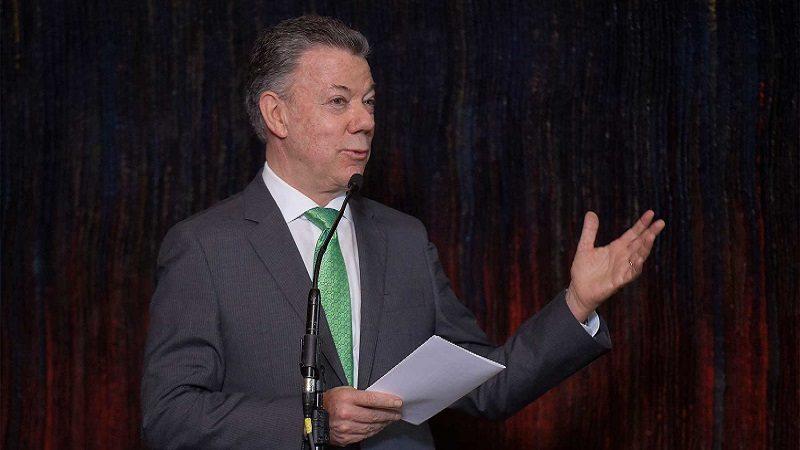 El Presidente Juan Manuel Santos dijo que la Jurisdicción Especial para la Paz es una parte esencial de los acuerdos firmados, y requiere de las mejores mentes y los mejores juristas, durante la posesión de Danilo Rojas Betancourth.