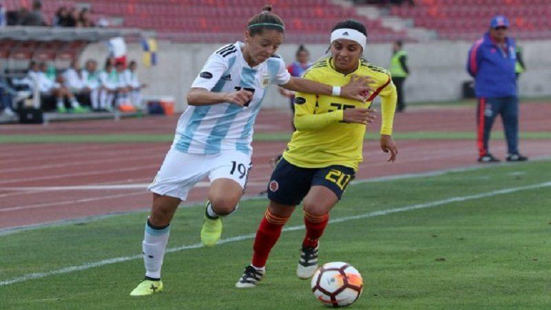 Selección Colombia femenina perdió 3-1 ante Argentina