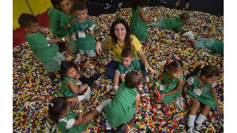 niños de Barranquilla dejaron volar su imaginación en Lego Fun Fest