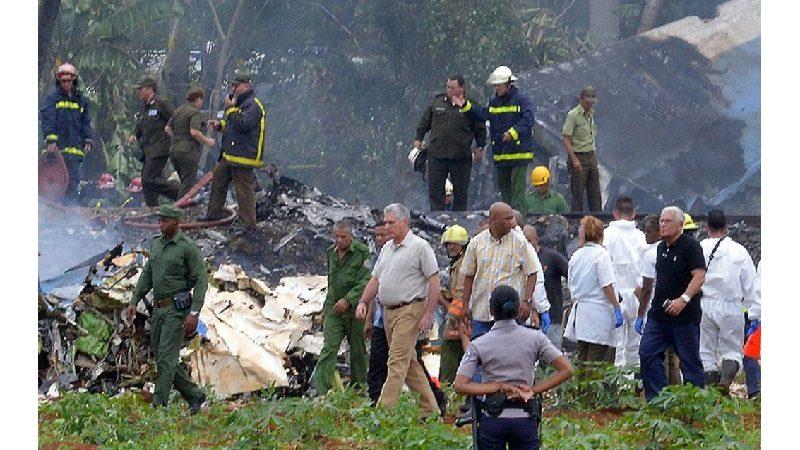 Accidente de avión en Cuba deja más de cien víctimas
