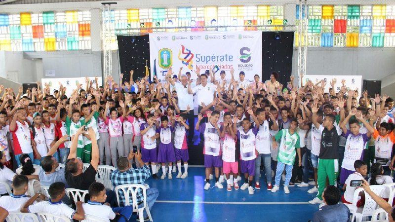 Alcalde Joao Herrera inauguró los Juegos Supérate Intercolegiados de Soledad 2018