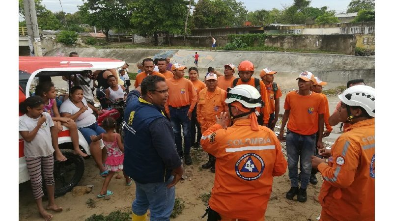 Autoridades realizan censo de afectados por lluvias en Soledad