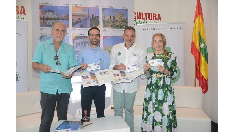 Barranquilla viajará por el mundo a través de estampillas postales