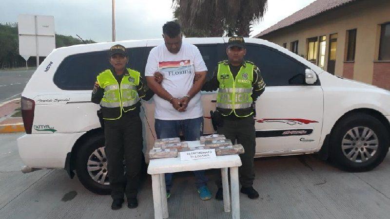 Capturan a conductor que transportaba cocaína entre Barranquilla y Cartagena
