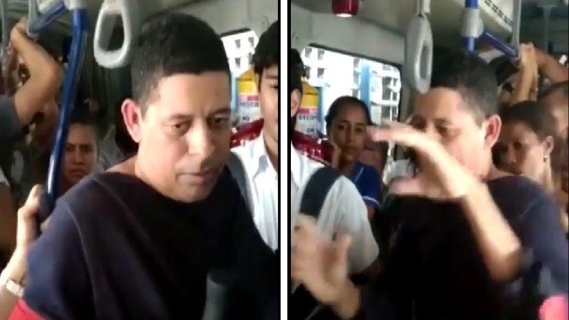 Capturan a hombre que le mostró el pene a un niño en bus de Transmetro