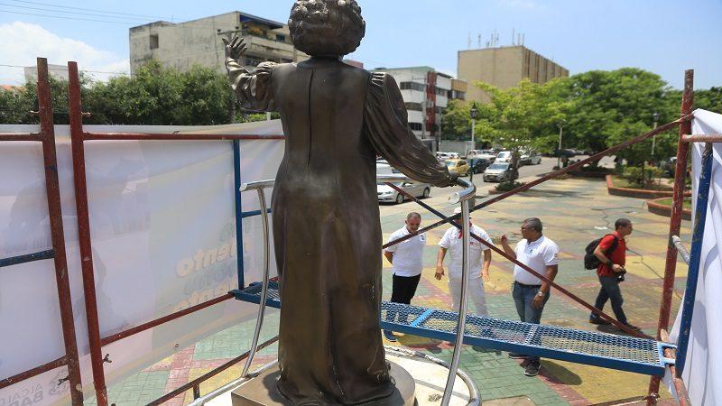 Comenzó mantenimiento y restauración de 28 monumentos en Barranquilla