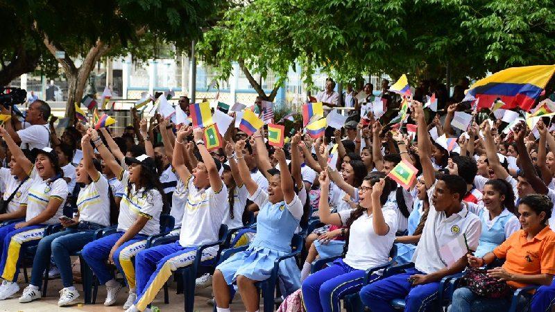 Con apertura de Scholas Colombia en Barranquilla, jóvenes del Distrito ratifican compromiso para transformar su entorno