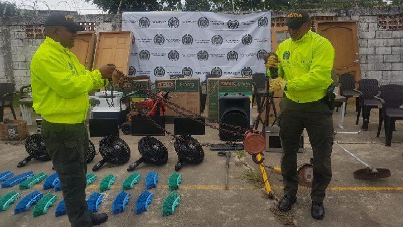 Encuentran en el barrio Las Nieves elementos que se habían robado en condominio en Baranoa