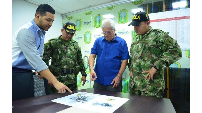 Gaula Militar Caribe asigna 40 soldados para combatir la extorsión en Soledad