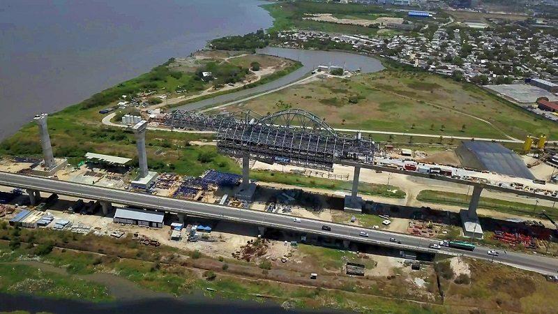 Gobernación del Atlántico y CCI piden prórroga para destrabar obras del puente Pumarejo