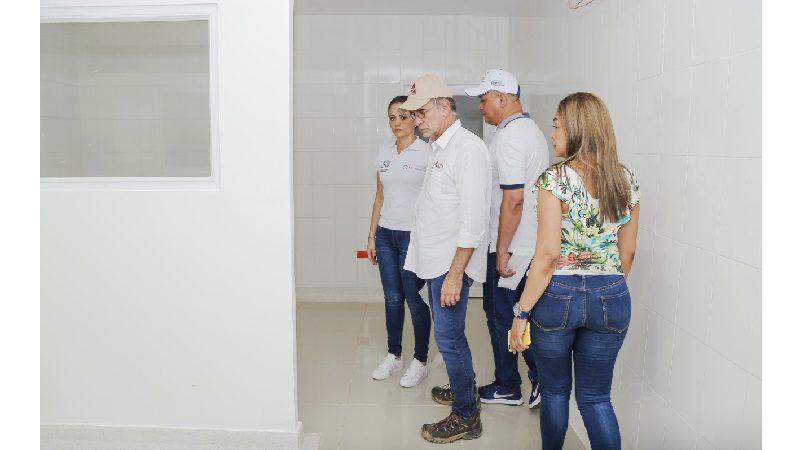 Gobernación renovó área de consulta externa del Hospital de Sabanagrande
