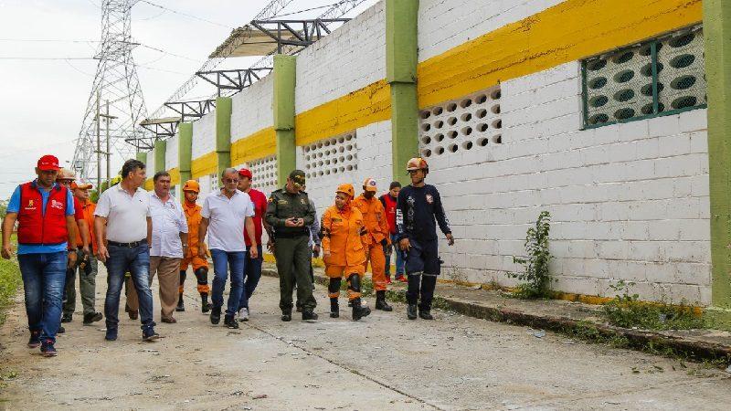 Gobernador decretó calamidad pública para 12 municipios del Atlántico