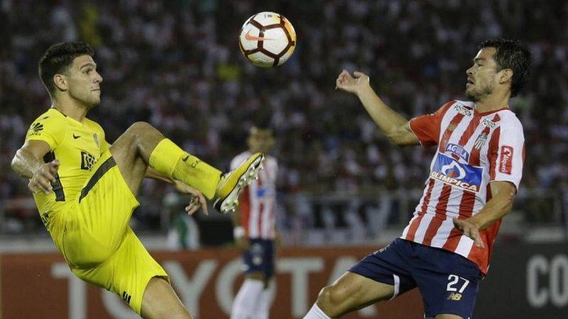 Junior empató 1-1 con Boca Juniors, por Copa Libertadores