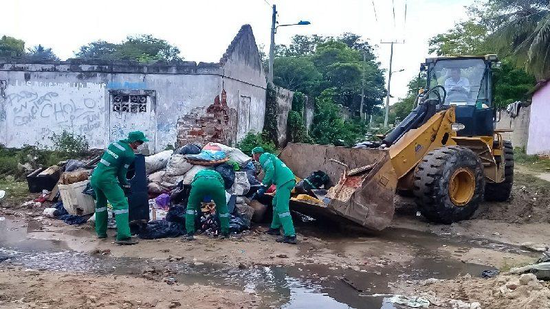 Más de 50 toneladas de escombros han sido recolectadas tras emergencia invernal de Soledad