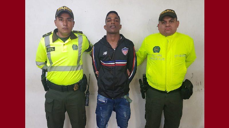 Otra vez capturaron a Luis Zambrano, el atracador de buses del corregimiento La Playa