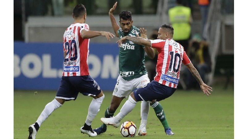 Palmeiras derrotó 3-1 a Junior y lo eliminó de la Copa Libertadores