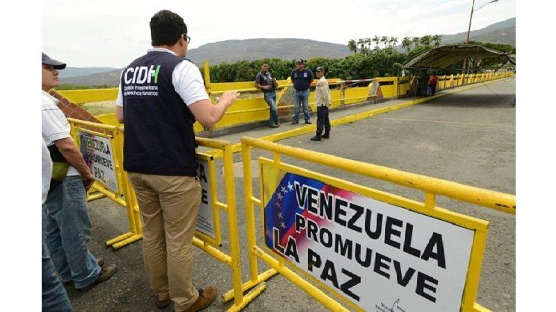 Venezuela ordena cerrar frontera con Colombia por elecciones de este domingo