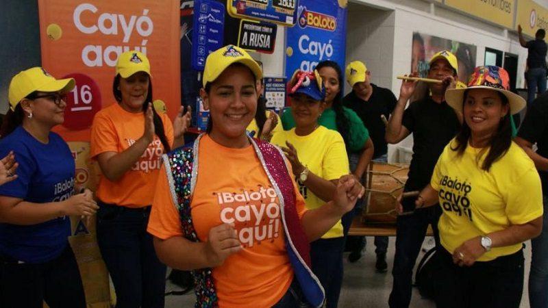 Ya fue entregado el premio de $46 mil millones al ganador de Baloto en Barranquilla