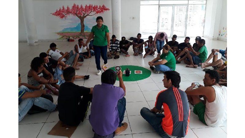 'Círculos de amor', una herramienta para fortalecer valores en los habitantes de calle