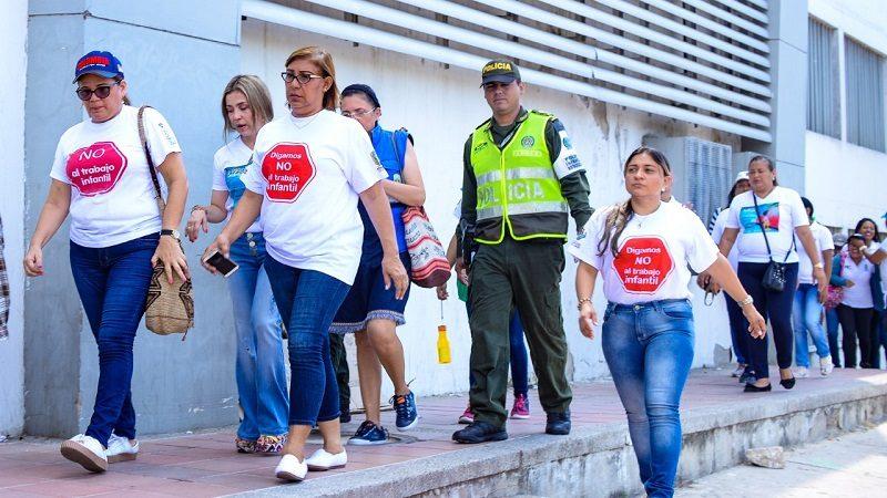 Alcaldía de Soledad busca niños trabajadores para proteger sus derechos