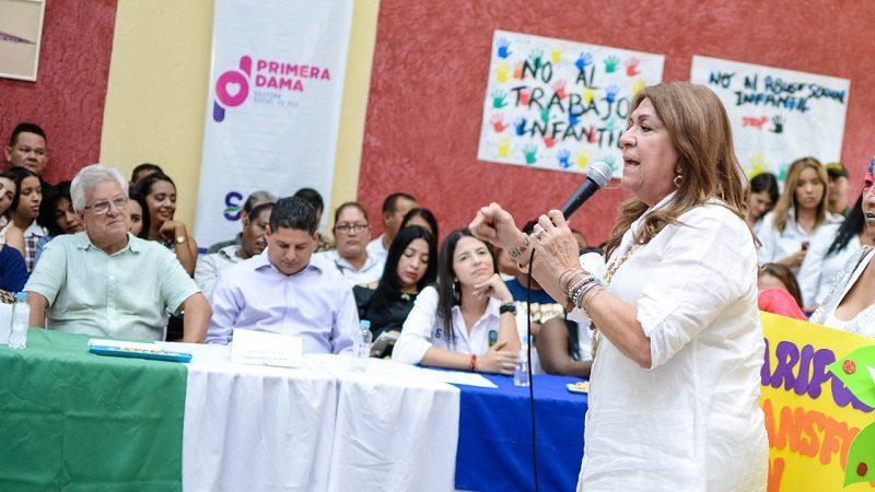 Autoridades y comunidad crean Cuerpo Élite por la Niñez de Soledad