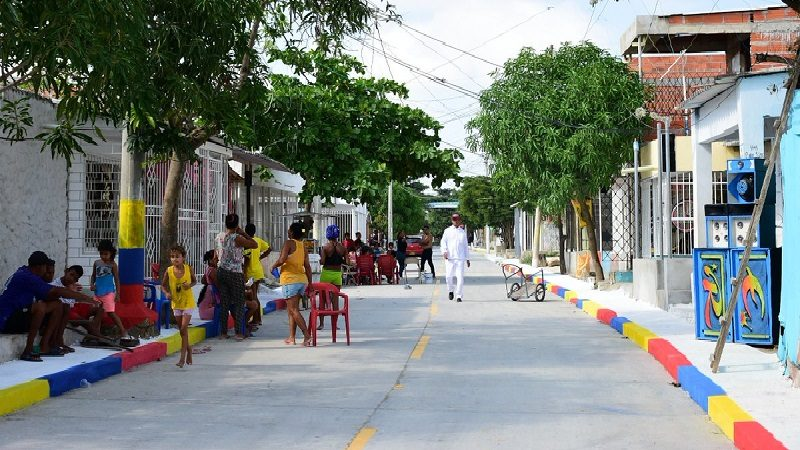 Barrio Los Olivos estrena 2 nuevos kilómetros de vías