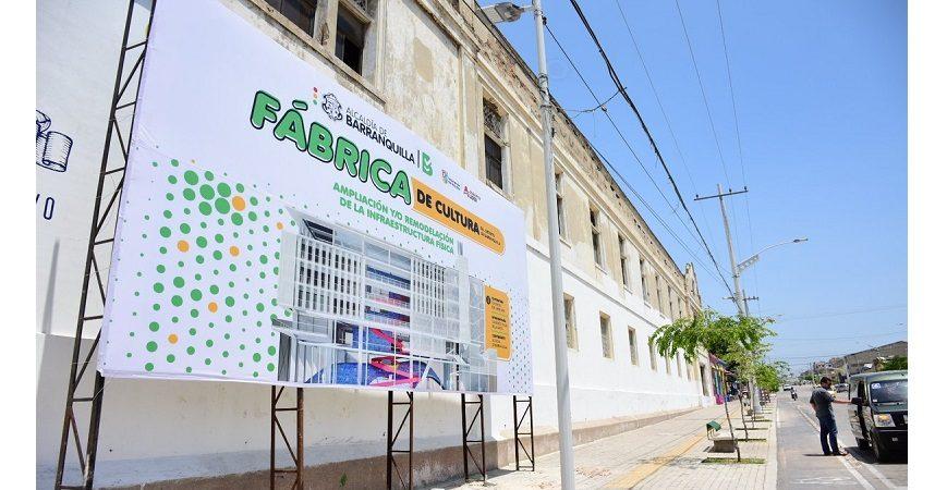 Comenzó en Barranquilla construcción de la primera 'Fábrica de Cultura' en la región Caribe