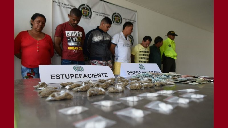 Desmantelan banda que vendía droga en varios municipios del Atlántico