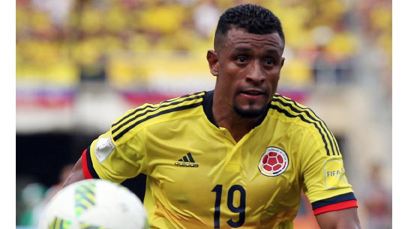 Farid Díaz se une a la Selección Colombia, en reemplazo de Frank Fabra