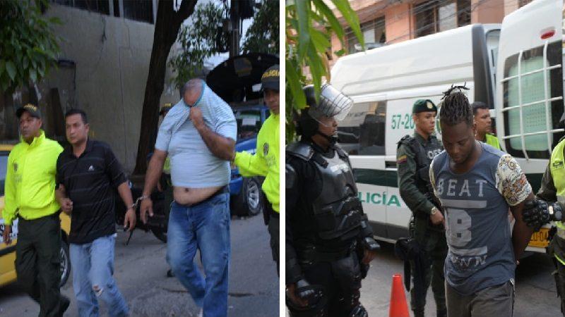 Fuertes operativos de la Policía este viernes en Barranquilla dejan más de 20 capturas