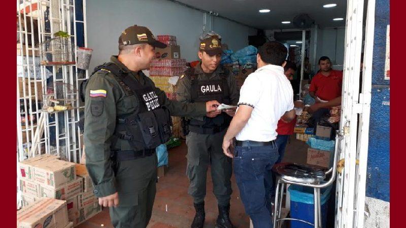 Gaula de la Policía ataca la extorsión en el centro de Barranquilla