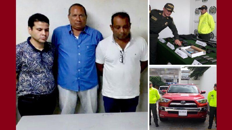 Hallan arsenal de guerra y camioneta robada en cabaña de Puerto Colombia