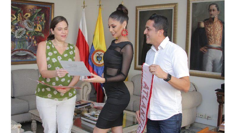 Melissa Acuña representará al Atlántico en el Reinado Nacional del Café