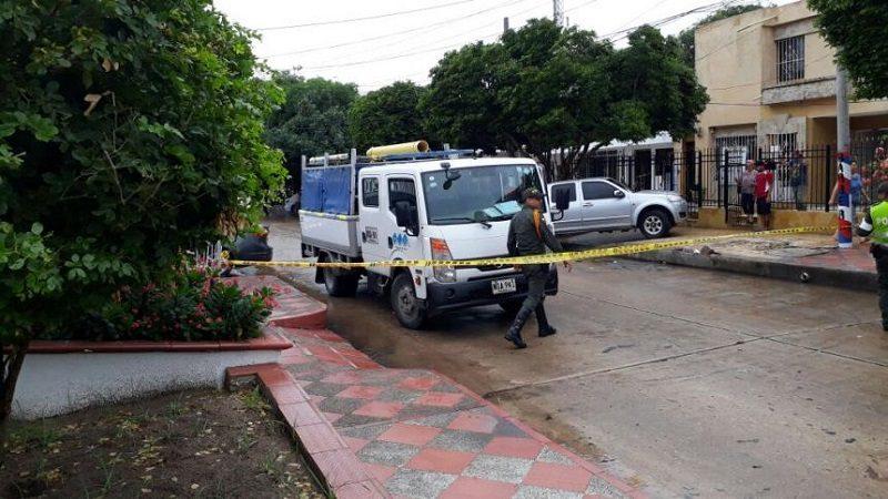 Muere mujer arrollada por camión de Triple A en el barrio Nueva Granada